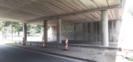 Graffiti-artiest mikt op Lambooybrug: 'Gemeente weigerde terecht, maar ik blijf hopen'