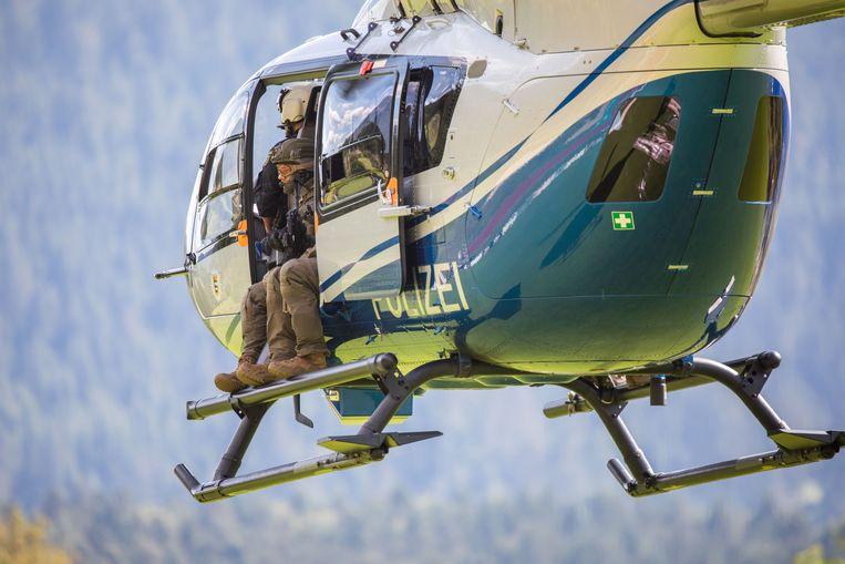 Ook helikopters uitgerust met warmtecamera's worden ingezet.