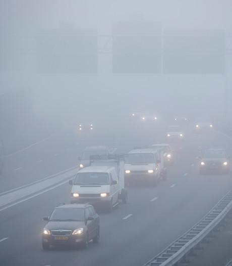 Code geel voor dichte mist