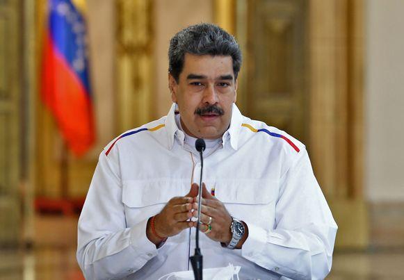 Venezolaans president Nicolás Maduro.
