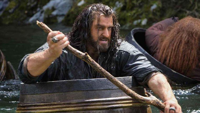 Richard Armitage speelt Thorin in The Hobbit: The Desolation of Smaug Beeld Rechtenvrij