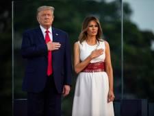 De l'eau dans le gaz entre Melania et Donald Trump? Les nouvelles images qui sèment le trouble