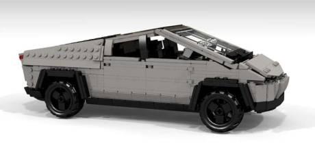 Tesla's Cybertruck is de gemakkelijkste Lego-auto ooit
