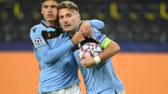 Club moet volgende week winnen in Rome: Dortmund en Lazio houden elkaar in evenwicht
