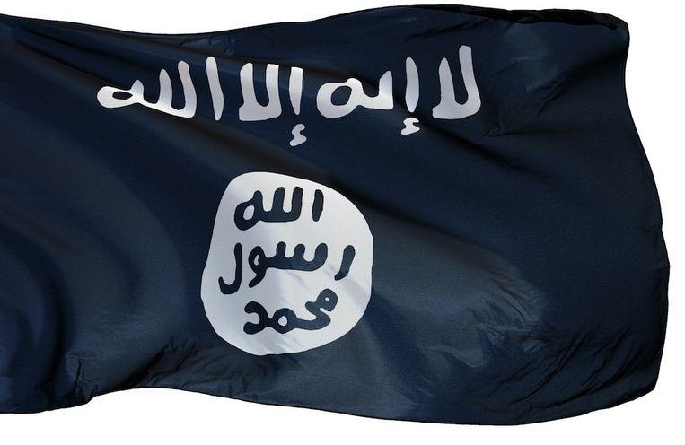 Vlag van IS. Beeld Shutterstock