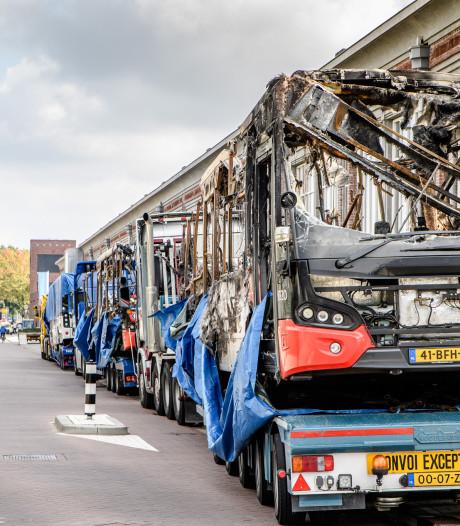 Justitie eist in hoger beroep 3,5 jaar cel voor busbranden in Tilburg