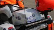 Motorrijder in berm door tegenligger