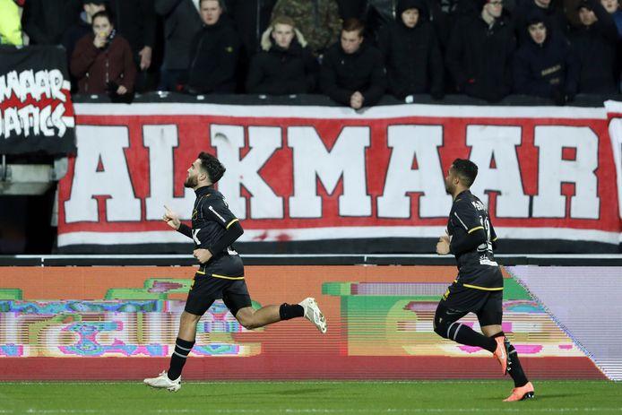 Mounir El Allouchi opende het bal door de openingstreffer voor zijn rekening te nemen.