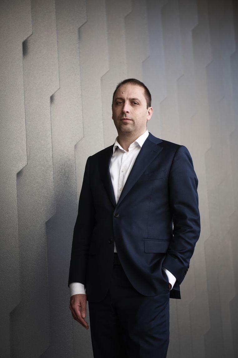 Maarten Groothuizen: 'We hebben handjes nodig, zeggen werkgevers.' Beeld null