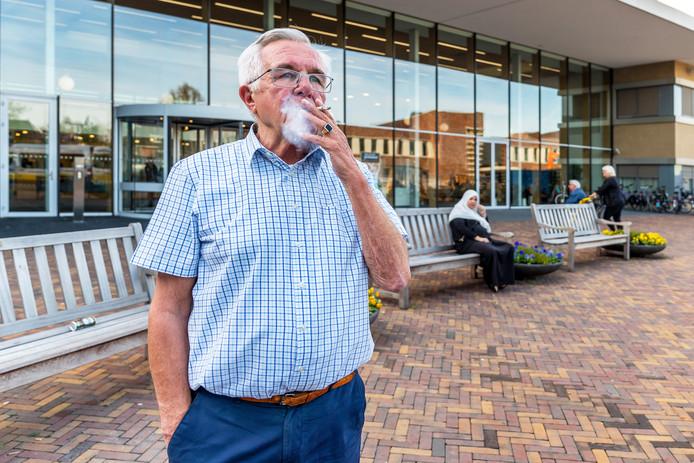Op het gehele terrein rond het Diakonessenhuis in Utrecht geldt sinds begin dit jaar een rookverbod.