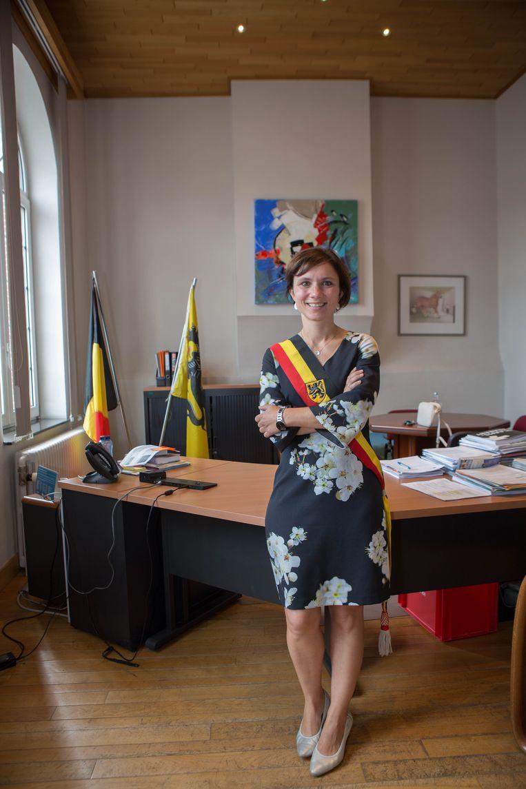 Burgemeester Irina De Knop