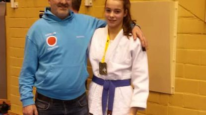 Michelle Lievens is Belgisch kampioene judo