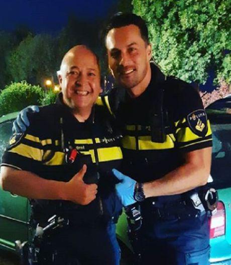 Het was agent Jordi die baby ter wereld bracht langs snelweg: 'Ze riep: ik houd het niet meer, hij komt nu echt!'