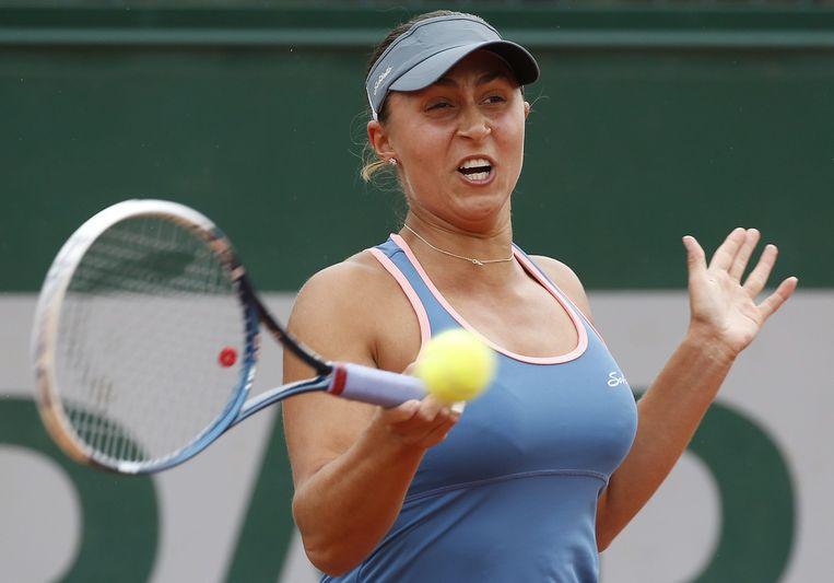 De Oostenrijkse Paszek toonde nog eens waarom ze ooit 27ste stond op de WTA-ranglijst.