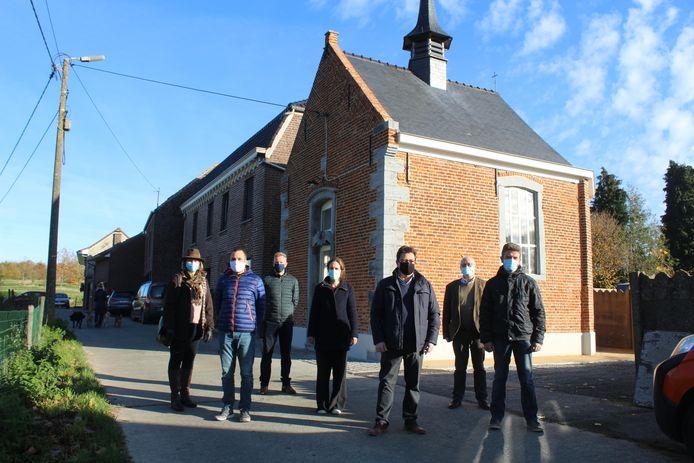 De gerestaureerde Sint-Leonarduskapel is opnieuw toegankelijk.