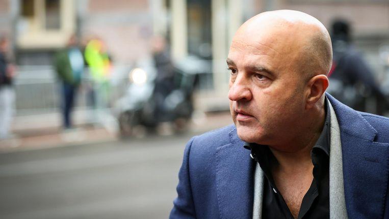 Misdaadjournalist John van den Heuvel Beeld anp
