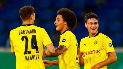 Dortmund klopt Gladbach dankzij twee goals Haaland (3-0), maar verliest wel al heel snel Thorgan Hazard met blessure
