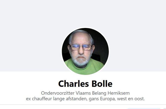 Charles Bolle is tot op vandaag ondervoorzitter van Vlaams Belang Hemiksem.