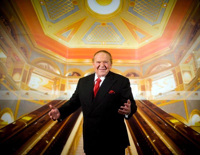 Sheldon Adelson had ook een hotel en casino in Macau, de voormalige Portugese kolonie  die sinds 1999 terug in Chinese handen is. Foto uit 2007.