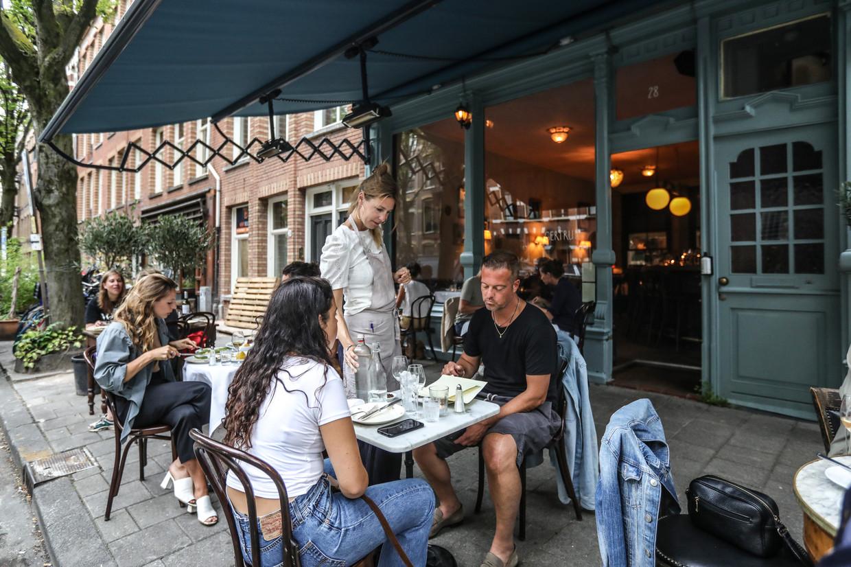 Amsterdam, West, Bosboom Toussaintstraat, Proefwerk, Gertrude Rest. & Bar. Beeld Eva Plevier