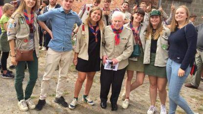 Aalmoezenier steekt scouts hart onder de riem