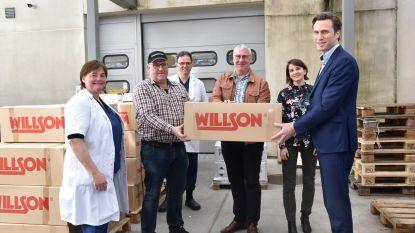 Landbouwer schenkt 12.000 mondmaskers aan Jan Yperman Ziekenhuis