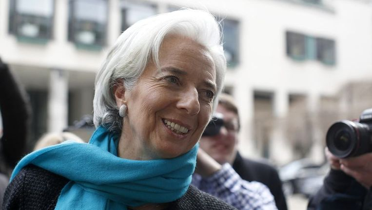 IMF-baas Christine Lagarde Beeld reuters
