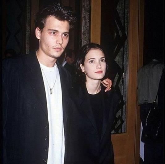 Johnny Depp et Winona Ryder.
