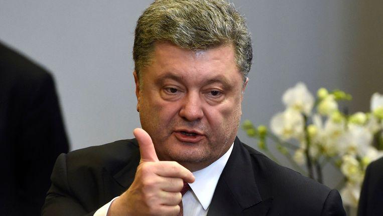 President Porosjenko zei vandaag dat Oekraïne 1 miljard dollar steun krijgt.