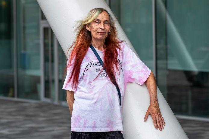 Aoife Derricks (68) heeft zich nu voor de lokale partij Ieders Belang op de politiek in Nieuwegein gestort