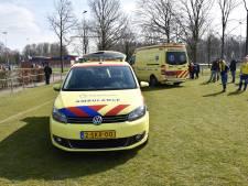 Jongen raakt gewond tijdens voetbalwedstrijd in Nijmegen