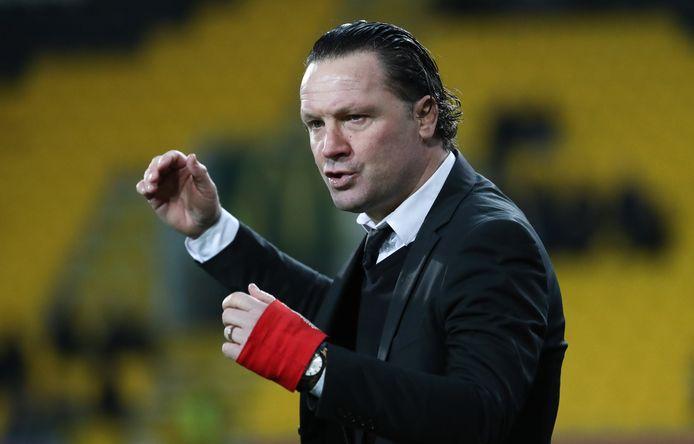 Stijn Vreven, coach van Sporting Lokeren
