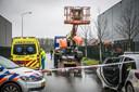 Een man uit Wijchen is overleden bij een bedrijfsongeluk op bedrijventerrein Bijsterhuizen in Wijchen.