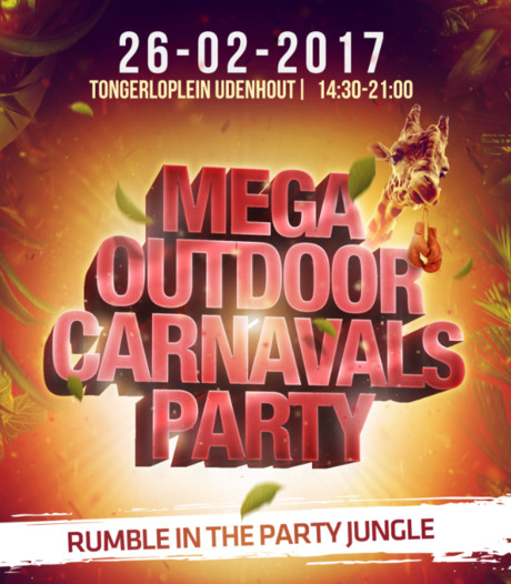 Mega Outdoor Carnavals Party Udenhout ter ziele