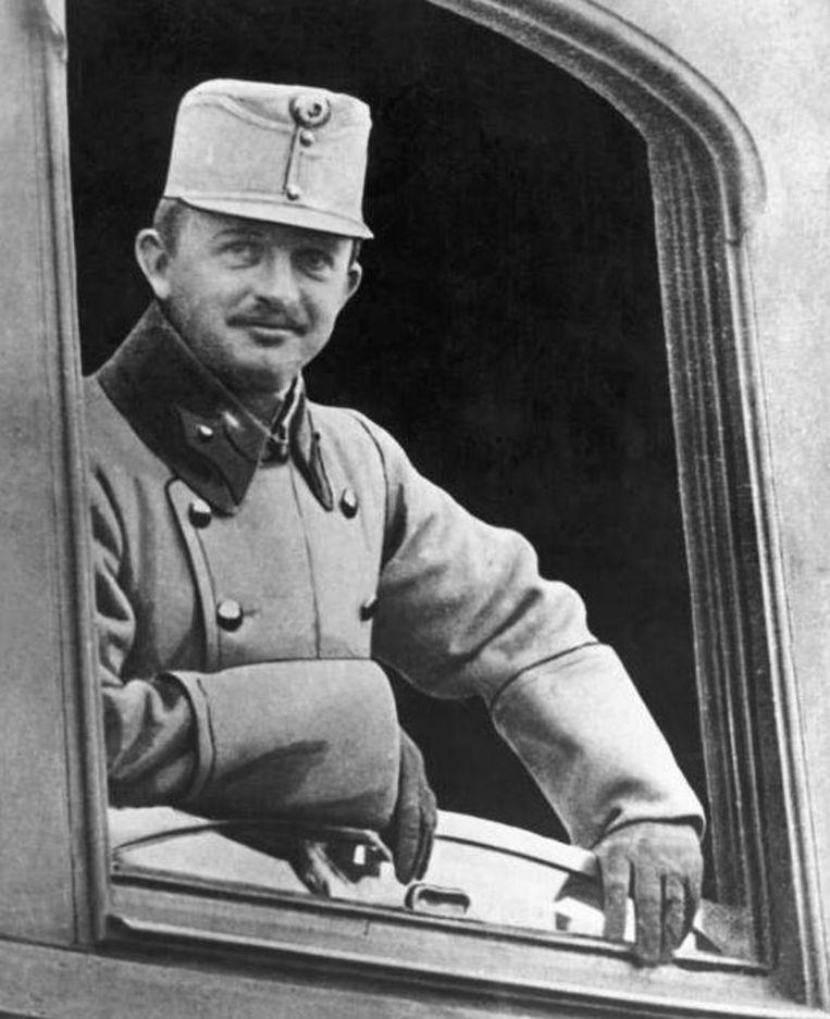 De Oostenrijkse keizer Karel I deed troonsafstand in november 1918. Hij overleed op 1 april 1922, 34 jaar oud. Beeld Getty Images