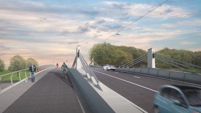 Vergunning voor bouw nieuwe Bergwijkbrug over Ringvaart in Merelbeke