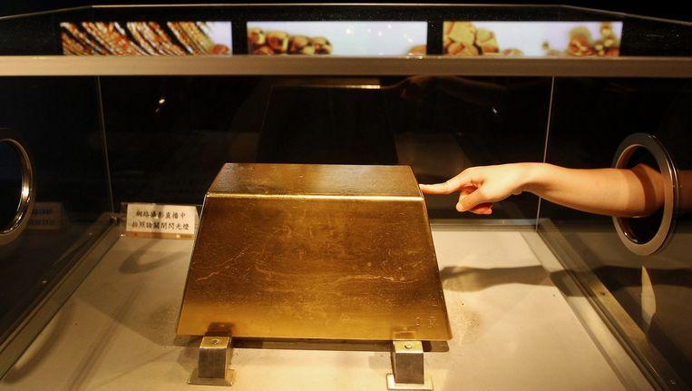 220 kilo goud. Beeld Reuters