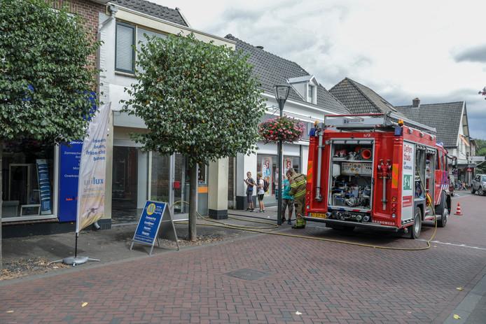 Brand in Rheden.