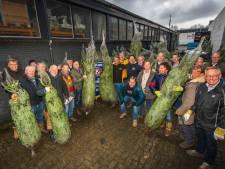 Kerstbomen Kiwanis leveren ruim 10.000 euro op voor kinderprojecten Almelo en omstreken