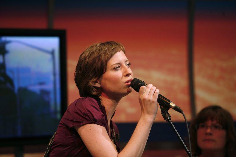 Stevie Ann treedt ook op bij de concerten van DWDD. © ANP Beeld