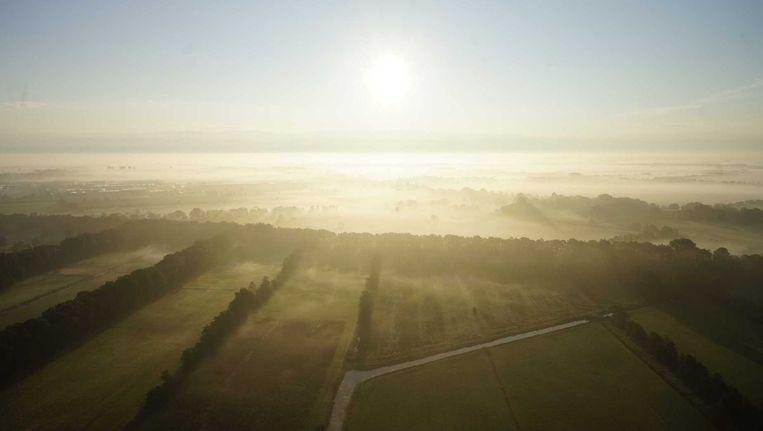 De dag begint weer met mist. Beeld anp