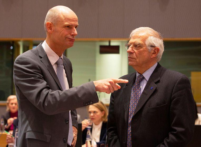 Stef Blok spreekt maandag in Brussel met Josep Borrell, buitenlandchef van de Europese Unie. Beeld AP