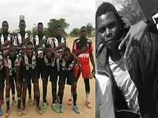 Krokodil bijt Mozambikaanse voetballer (19) dood