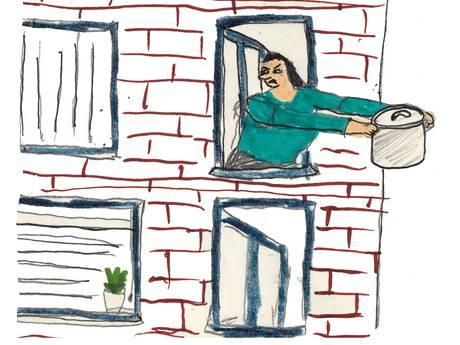 'Hem kan ik vergeven, maar mijn ex-schoonmoeder nooit van mijn leven'