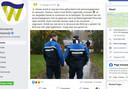 Still van het facebookbericht van de gemeente Waalwijk