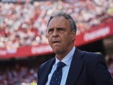Zieke Caparrós stopt toch als trainer bij Sevilla