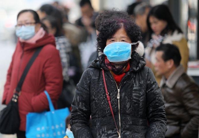 Mondkapjes als bescherming tegen het coronavirus.