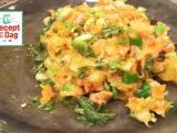 Zo maak je de 'zoete aardappelbrandade met kabeljauw' van 24Kitchen