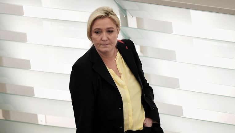 Marine Le Pen Beeld afp