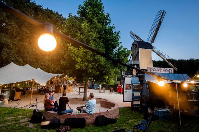 Festivalsfeer bij het Nederlands Openlucht Museum. Foto: Gerard Burgers.